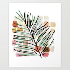 Darling, Through This Way: Under The Leaves Art Print