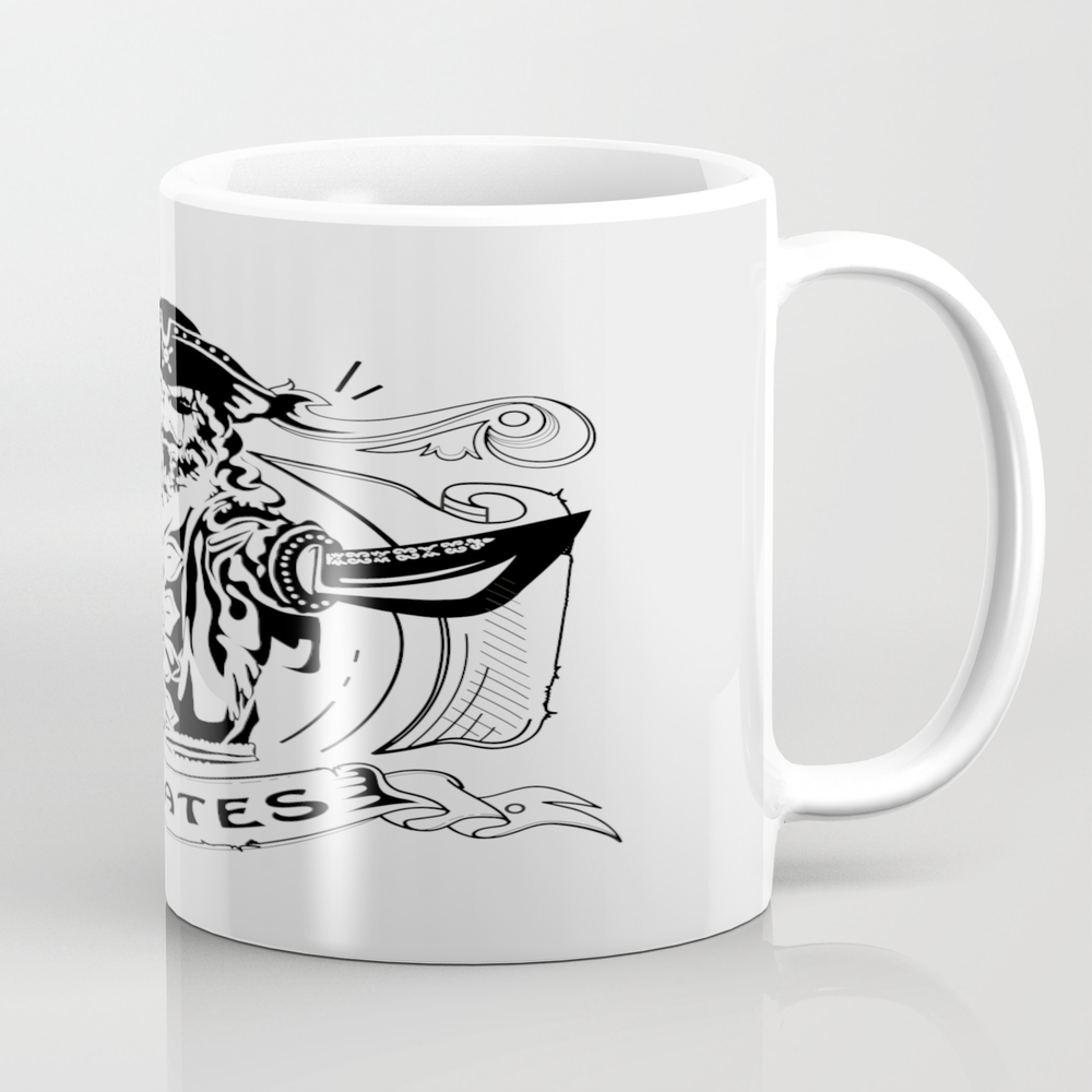 Pirate Tea Cup by Viktoryiav MUG8244832