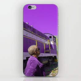 Purple, and other colors of existence iPhone Skin