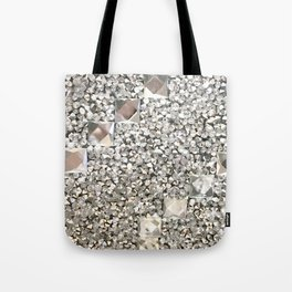 Diamond Chips Pattern Tote Bag