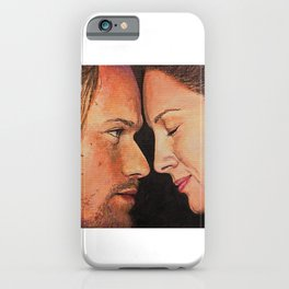 Mo nighean donn (Outlander) Original work of art iPhone Case
