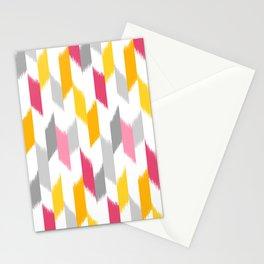 Ikat Stripes Stationery Cards