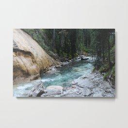 Johnston Canyon Metal Print