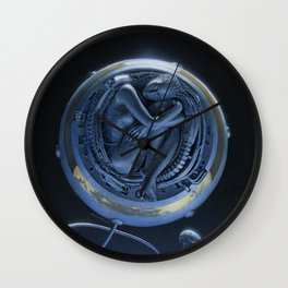 Orbiter II Wall Clock