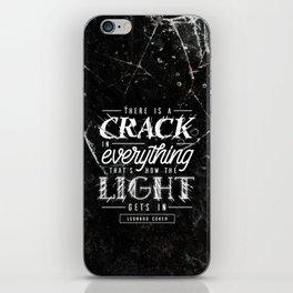 Crack iPhone Skin