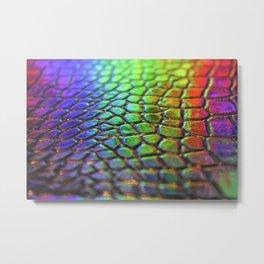 Rainbow Scales 1 Metal Print