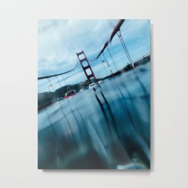 Sunken Bridge Metal Print