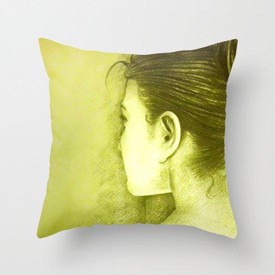 BEHIND Throw Pillow