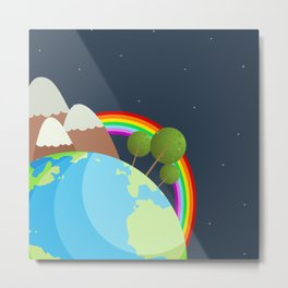Night On Earth Metal Print