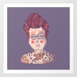 Image of: Imgur Society6 Old People Art Prints Society6