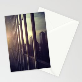 nyc window Stationery Cards
