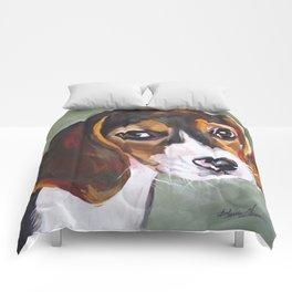 Beagle Pet Art Comforters