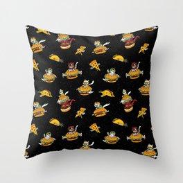 I Can Haz Cheeseburger Spaceships? Throw Pillow