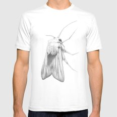 Moth  MEDIUM Mens Fitted Tee White
