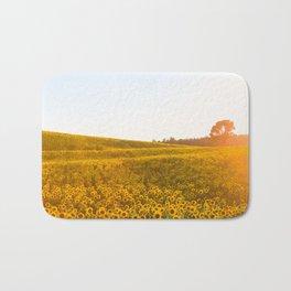 Field of Sunshine Bath Mat