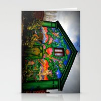 hippy Stationery Cards featuring house hippy by  Agostino Lo Coco