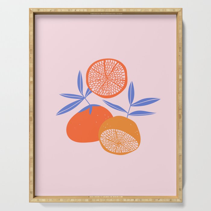 Sweet citrus Serving Tray