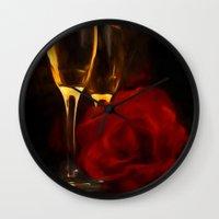 romance Wall Clocks featuring Romance by ThePhotoGuyDarren