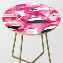 Lip Service Side Table
