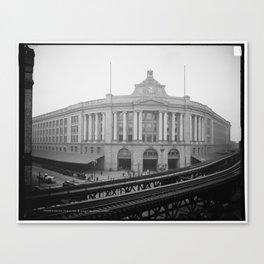 South Station, Boston 1904 Canvas Print