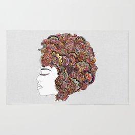 Her Hair - Les Fleur Edition Rug