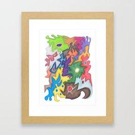 Drawing #97 Framed Art Print