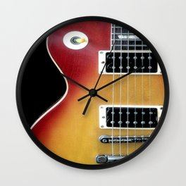 Les Paul Wall Clock
