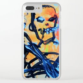 zombieart Clear iPhone Case