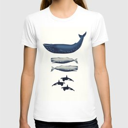 Whale Counting 123  T-shirt