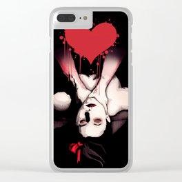 Choke Love Clear iPhone Case