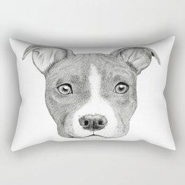 Staffordshire Terrier Dog Rectangular Pillow