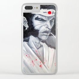 Afro Samurai Clear iPhone Case