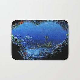 deep sea Bath Mat