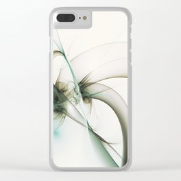 Development, Abstract Art Clear iPhone Case