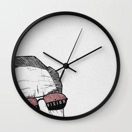 x-ray vision Wall Clock