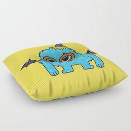 Monsticky Sky-blue monster Floor Pillow