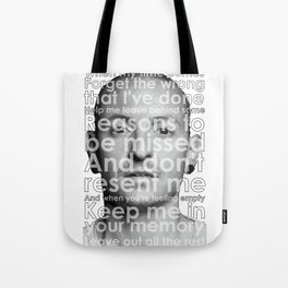 RIP CHESTER Tote Bag