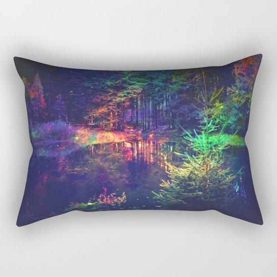 mysterious forest Rectangular Pillow