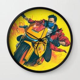 logic album 2021 atin13 Wall Clock