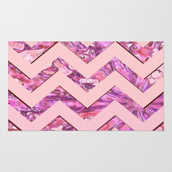 Girly Pink Rug