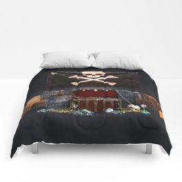 Pirate Treasure Comforters