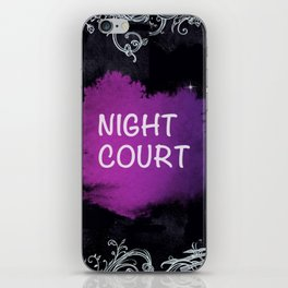 Night Court iPhone Skin