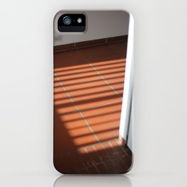 Caught in the shadow iPhone Case