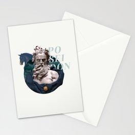 greek deities #2 - poseidon Stationery Cards