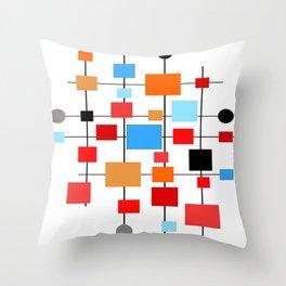 Mid-Century Modern Art 1.3.3 Throw Pillow