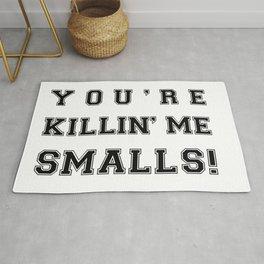 Funny baseball movie You re Killing me, smalls Rug