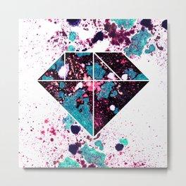 Tangram Diamond Two Metal Print