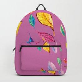Summer colourfull pattern, decortive illustration design Backpack
