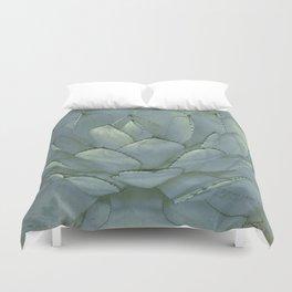Agave Succulent Cactus Duvet Cover