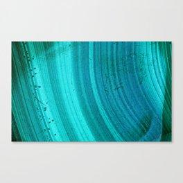 Turquoise Halos Canvas Print